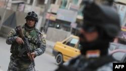 نیروهای امنیتی عراقی در بغداد