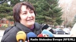 Елизабета Ѓоревска, дипломиран акушер на Високата медицинска школа во Битола.