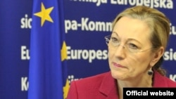 "EU External Relations Commissioner Benita Ferrero-Waldner: ""I do regret the need to reschedule my visit to Minsk, as it would have given me, I think, a clear chance not only to discuss with all sides the situation in Belarus five months after the suspensi"