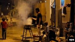 В лагере для беженцев на юго-востоке Турции