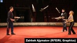 Кыргыз циркинин артисттери