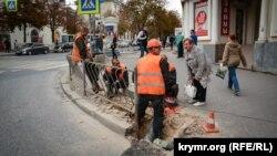Реконструкція вулиці Велика Морська в Севастополі