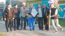 Tatarstan -- Scene of Tatar national fest Sabantuy in Subash village of Tatarstan, 11jun2018