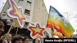 جانب من إحتفال العام الماضي باليوم العالمي لمكافحة الفاشية في صربيا