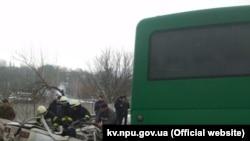 Ukraine -- Road accident in Kyiv region leaves three people dead, 02Jan2019