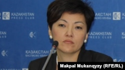 Руководитель фонда «Центральная Азия - Евразия» Азалия Дайырбекова.