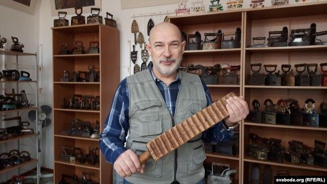 Аляксандар Шпакоўскі, стваральнік «Музэю праса» ў Горадні