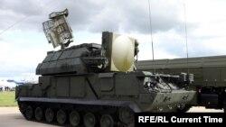 این سیستم دفاع موشکی تور ۱ است که گفته میشود هواپیمایی اوکراینی را مورد هدف قرار داده است