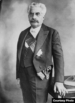 Alexandre Millerand, președintele Franței (1920-1924) (Foto: Biblioteca Centrală Universitară, Iași)