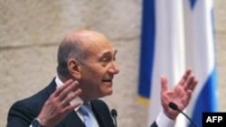 آقای اولمرت به دليل اتهام فساد مالی که به وی وارد شده تحت فشارهای شديد سياسی قرار دارد.(عکس: AFP)