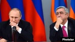 Vladimir Putin və Serzh Sarkisian