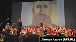 Ұлыбританиялық композитор Карл Дженкинстің «Шәкерім» симфониясының премьерасы. Алматы, 10 қазан 2012 жыл.