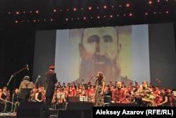 """Казахстанская премьера симфонии """"Шакарим"""". Алматы, 10 октября 2012 года."""