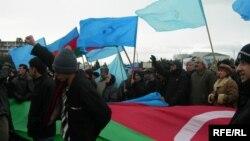 Müsavatın aksiyası, 18 fevral 2007