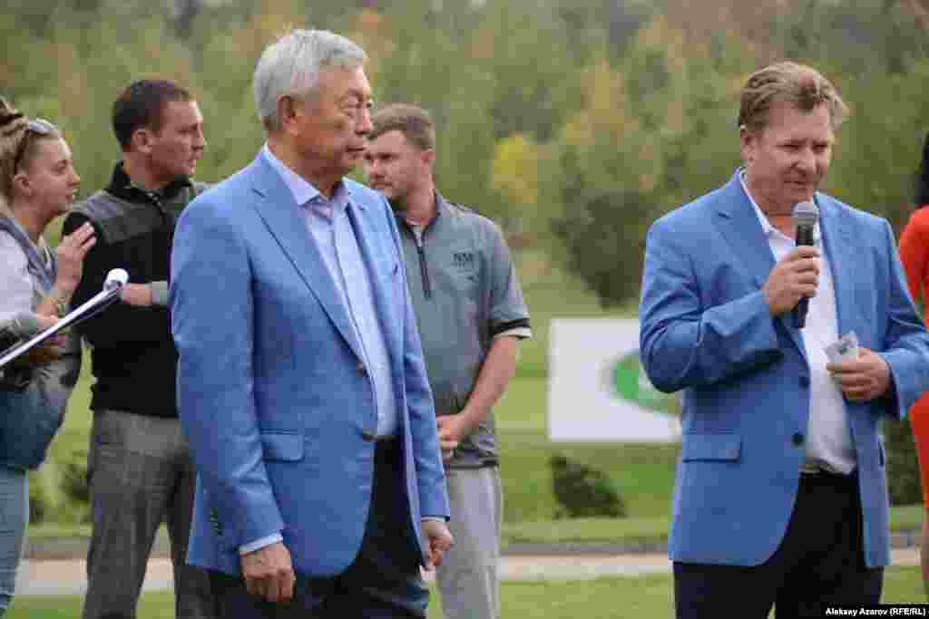 Вскоре после завершения турнира Pro Am президент Федерации гольфа Казахстана Нуртай Абыкаев и исполнительный директор Kazakhstan Open – European Challenge Tour Нил Бриггс объявили об открытии Kazakhstan Open по гольфу.