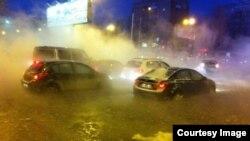 Авария на водоводе, Екатеринбург