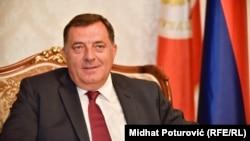 Na prijem kod Dodika za predstavnike verskih zajednica, povodom 9. januara, Dana Republike Srpske, došli su samo predstavnici Srpske pravoslavne crkve