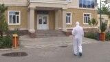 Яке аз бемористонҳои Тоҷикистон. Акс аз бойгонӣ.