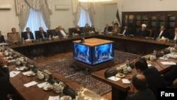 حسن روحانی در جلسه مدیریت بحران در روز ششم فروردینماه