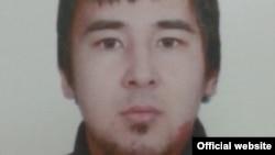 Фото Альберта Абхина, распространенное Государственной службой исполнения наказаний Кыргызстана в сообщении о розыске Абхина.