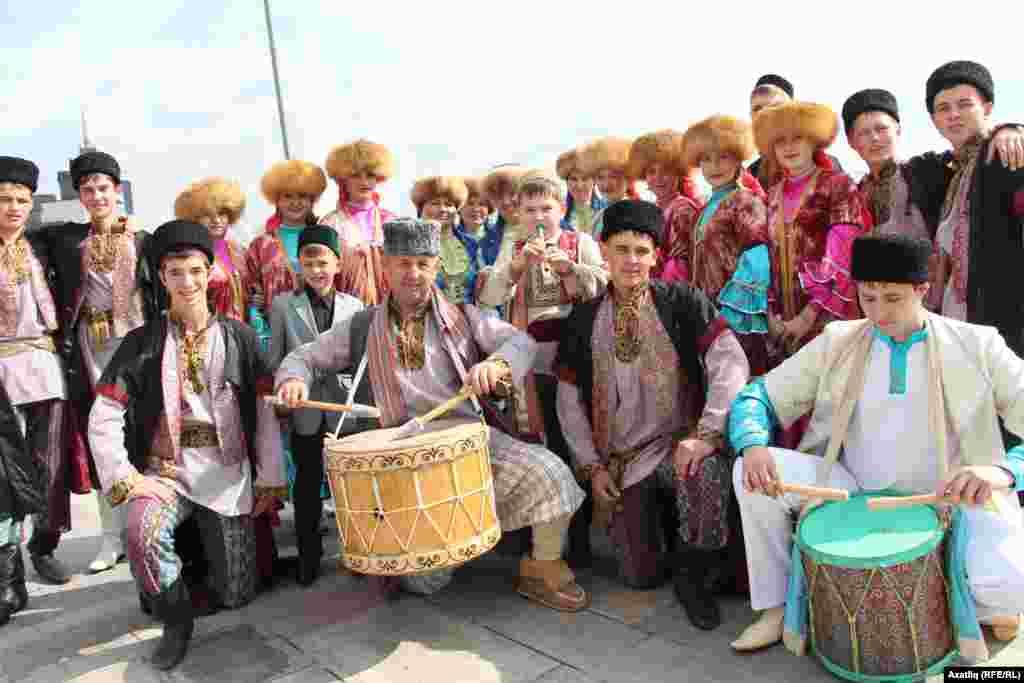Чуашстаннан килгән татар сәнгатькәрләре