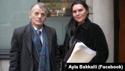 Мустафа Джемилев и Айла Баккали