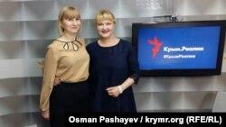 Лариса Кольченко и Ольга Афанасьева