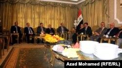 اجتماع بين الرئيس طالباني ورئيس الوزارء المالكي