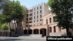 Հայաստանի քննչական կոմիտեի շենքը Երևանում