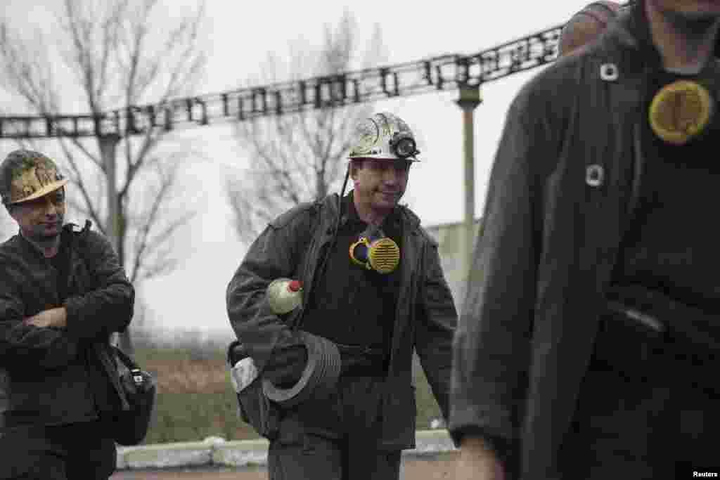 В ликвидации последствий взрыва на шахте принимали участие те горняки, которые не пострадали