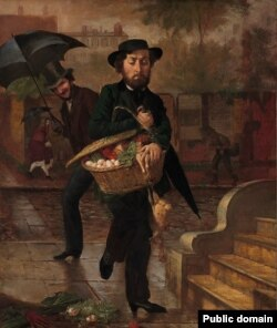 Лілі Мартын Спэнсэр, «Малады муж: першыя закупы» (1854)