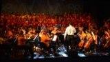 Zajednički koncert djece iz Niša, Zagreba i Srebrenice u Srebrenici