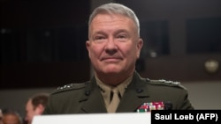 Marine Corps Lt. Gen. Kenneth F. McKenzie Jr., commander of the US Central Command. File photo