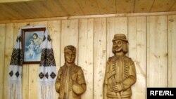 У музеї дерев'яної скульптури в Яблунові, який недавно відкрився