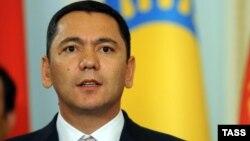 Қырғызстан премьер-министрі Өмірбек Бабанов.