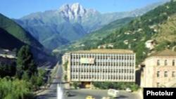 Армения - Площадь в Капане (архив)