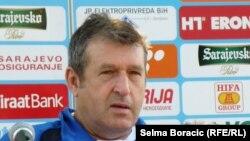 Safet Sušić na konferenciji za novinare