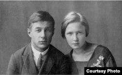 Борис Корнилов и Ольга Берггольц