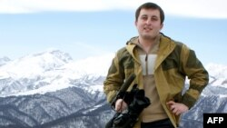 TV news presenter Kazbek Gekkiyev was gunned down as he left work in Nalchik on the evening of December 5.