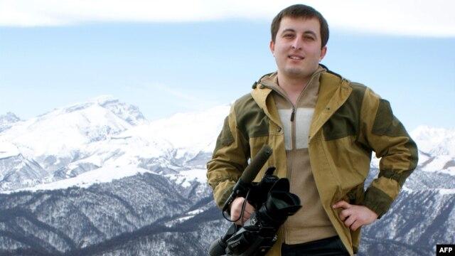 TV news presenter Kazbek Gekkiyev was gunned down as he left work in Nalchik on the evening of December 5.