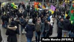 Норвеги - Iедало бераш дай-наношкара дIадахарна резабоцучийн протест, Осло, 05Лах2016