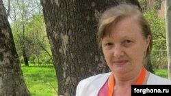 Узбекская правозащитница Елена Урлаева.
