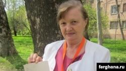 Өзбекстандық құқық қорғаушы Елена Урлаева.