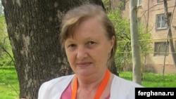 Uzbek rights activist Elena Urlaeva