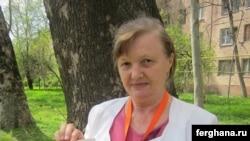 Ташкентская правозащитница Елена Урлаева.