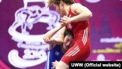 Айсулуу Тыныбекова Азия чемпиондугунда.