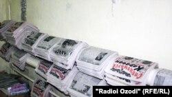 Tajikistan,Dushanbe -- Tajik Newspapers, 21Apr2011