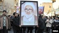 Իրան -- Հայտնի ընդդիմախոս հոգեւորական, մեծ այաթոլա Հոսեյն Մոնթազերիի հուղարկավորությունը