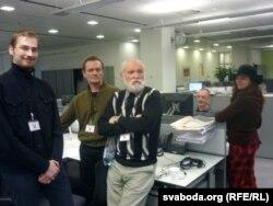 Творчая група фільма завітала на Радыё Свабода