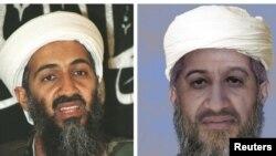 """Госдеп в 2010 году распространил сравнительное фото бин Ладена варианта 1998 года и предположительно то, как выглядел лидер """"Аль-Каиды"""" в 2009 году"""